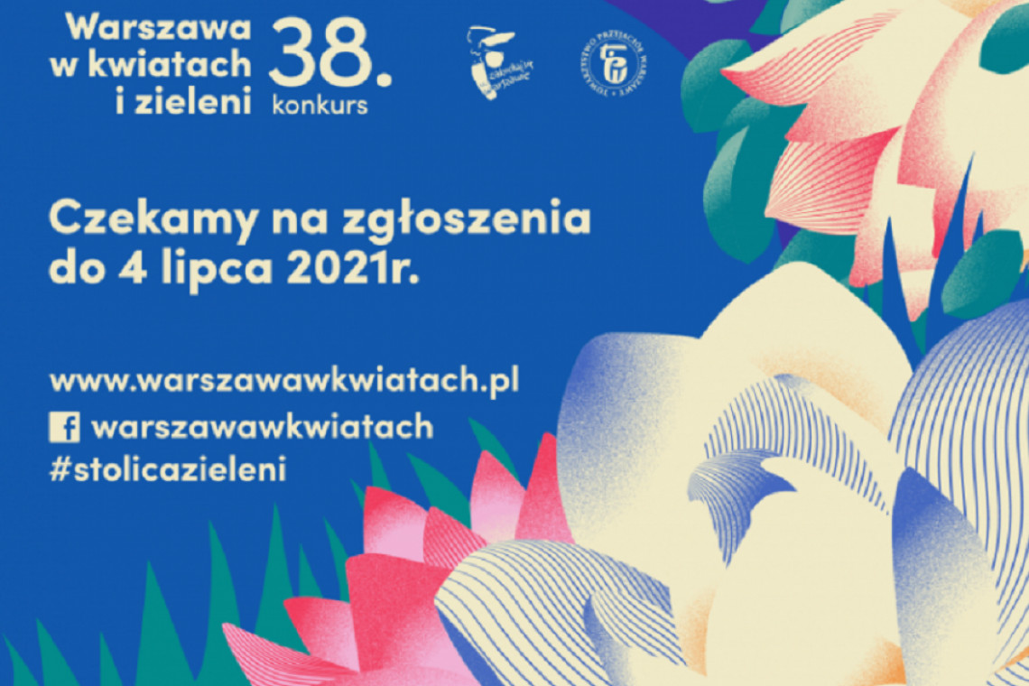 """Rusza konkurs """"Warszawa w kwiatach i zieleni"""""""