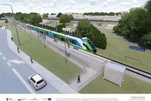 Kolej na Podkarpaciu się zmienia: 14 nowych przystanków, odnowione perony