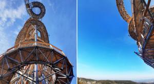 Otwarto najwyższą w Polsce wieżę widokową. Ma 65 metrów!