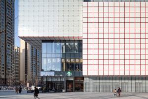 Zainspirowana kostką Rubika fasada zmienia swój wygląd w czasie rzeczywistym
