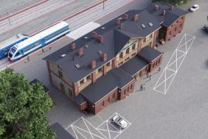 Zabytkowy dworzec w Świebodzinie przejdzie przebudowę