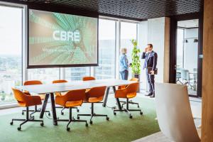 CBRE wprowadziło się do nowej siedziby w Warsaw Unit. Zaglądamy do środka