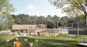 Tak będzie wyglądać świetlica sportowa w Żabieńcu. To projekt M.O.C. Architekci