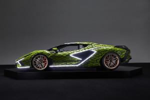 Lamborghini z 400 tys. klocków LEGO. Projektanci stworzyli auto rzeczywistych rozmiarów