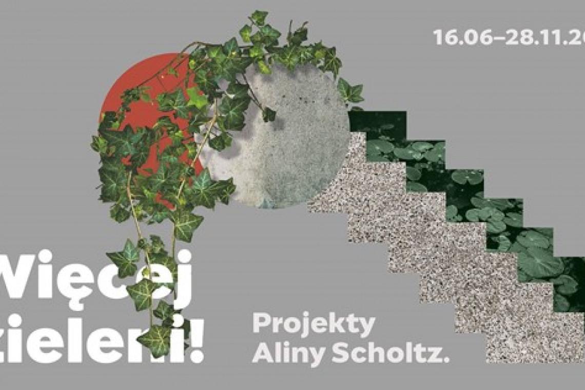 Niezwykła wystawa poświęcona warszawskiej architektce zieleni