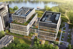 W Warszawie powstaje biurowiec spod kreski Grupa 5 Architekci