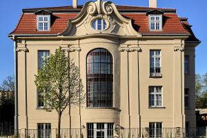 Hotel Liberté 33 w zabytkowej poznańskiej willi otwarty. To wspólny projekt PB Architekci i Pracowni Projektowej Sucharski