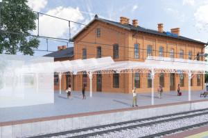 Dworzec w Rzepinie przejdzie modernizację. Historyczny wygląd połączy się z nowoczesnością