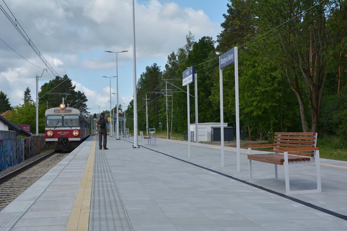 Nowe przystanki kolejowe w Olsztynie