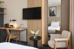 Hotel Kopernik odświeżył pokoje wraz z Tremend. Niebawem przejęcie przez Best Western