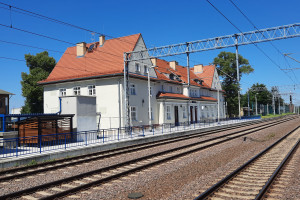 Dworzec w Prabutach przeszedł metamorfozę