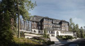 Ponad stuletni Sanssouci Hotel w Karpaczu przejdzie rebranding i odświeży wnętrza