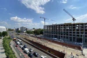 Budowa Bramy Oławskiej wkracza w nowy etap