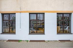 Nowa witryna sklepu meblowego we Wrocławiu. To efekt projektu Dobry Widok