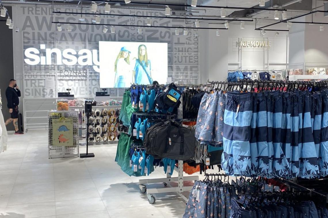Sinsay w Avenidzie odświeżył design
