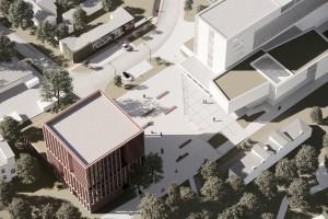 W Częstochowie powstanie nowy uniwersytecki budynek. To projekt pracowni P2PA