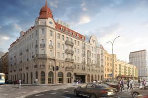 Po 76 latach odbudowano historyczną wieżę Hotelu Grand we Wrocławiu
