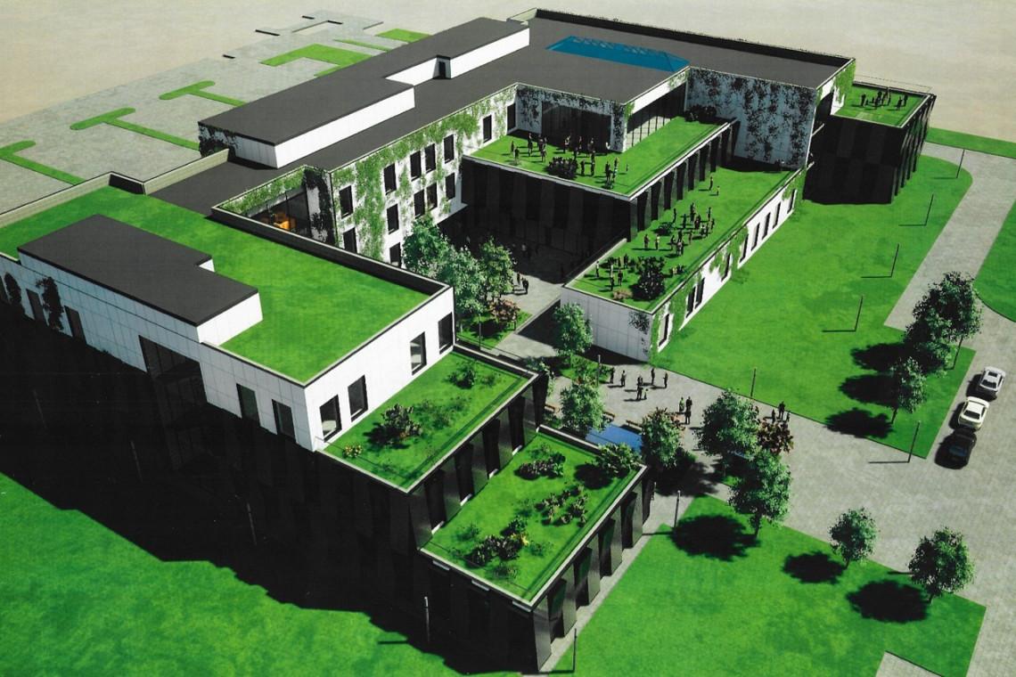 Zielone tarasy i energooszczędne rozwiązania. Skanska buduje dla SGGW