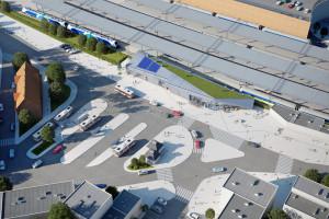 Dworzec Gdańsk Wrzeszcz przejdzie przebudowę. W planach zielony dach!