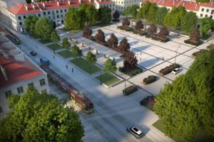 Tak będzie wyglądać Stary Rynek w Łodzi. Szykuje się dużo zieleni!