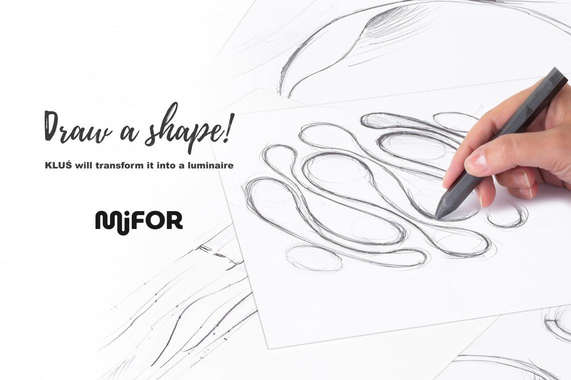 Narysuj dowolny kształt! Producent zmieni go w oświetlenie