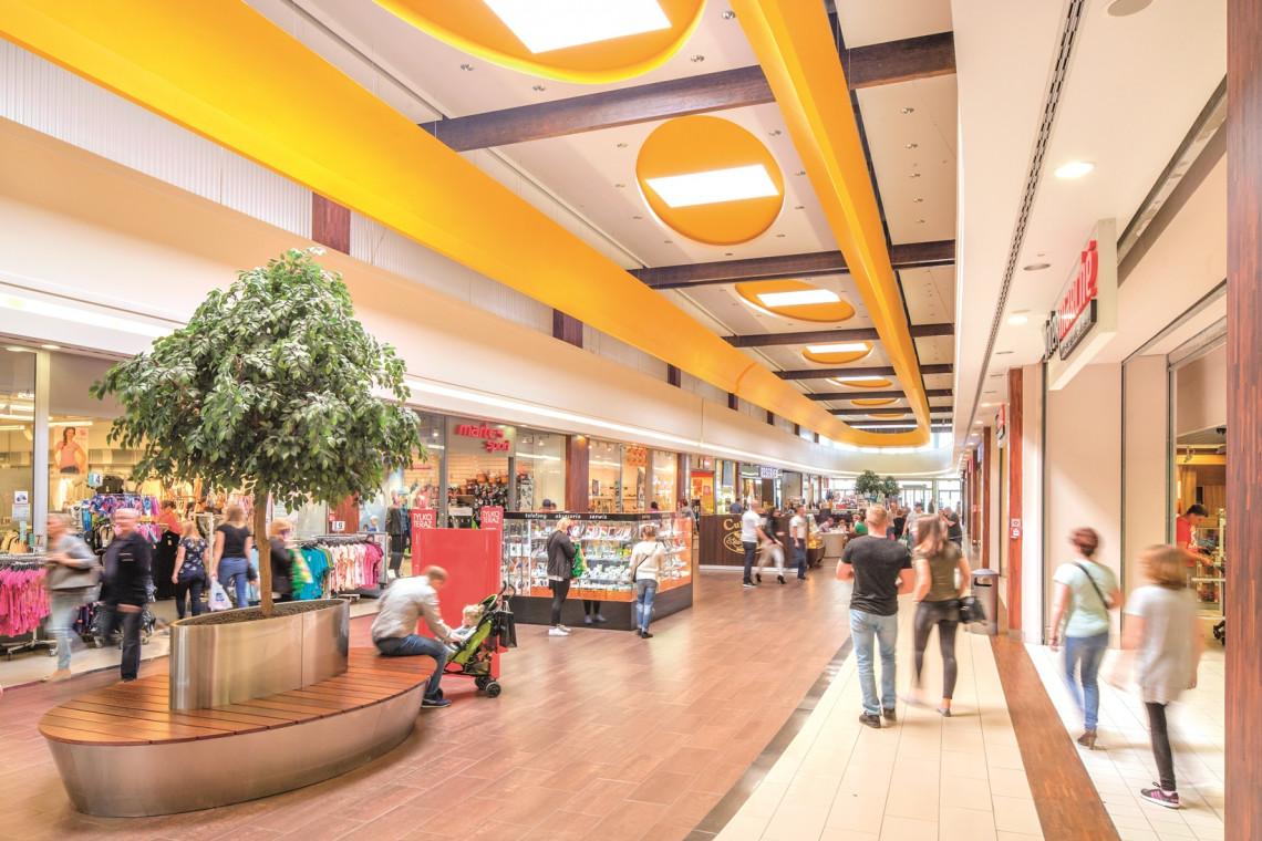 Trwa przebudowa ciechanowskiego centrum handlowego