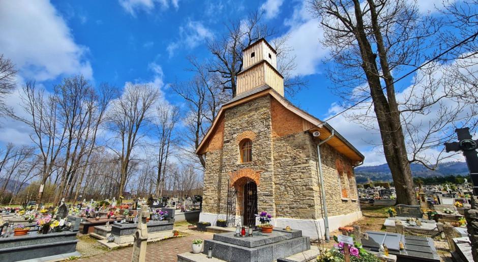 Zabytkowa kaplica w Milówce już po remoncie. Odzyskała dawny blak