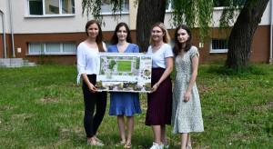 Szpital w Choroszczy z nowym ogrodem. To projekt studentek Politechniki Białostockiej