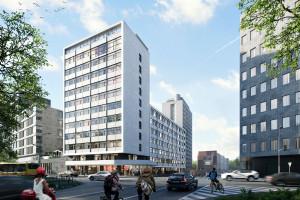 Prywatny akademik w centrum Warszawy. To projekt pracowni Grupa 5 Architekci!