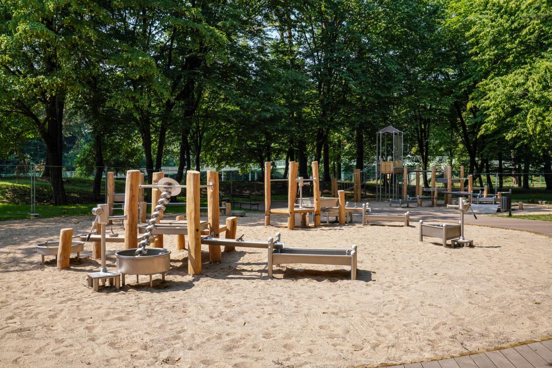 Wodny plac zabaw w Białymstoku. Nowy obiekt przyjazny dzieciom