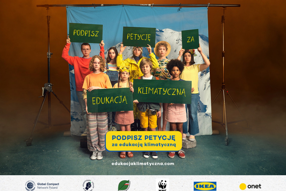 TAK! dla edukacji klimatycznej. Blisko 60 tys. podpisów pod petycją skłonił rząd do rozmów