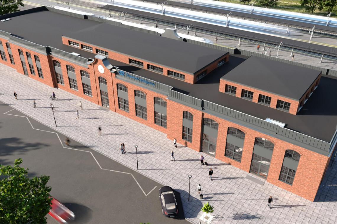 Dworzec w Siedlcach przejdzie przebudowę. Tak będzie wyglądał!