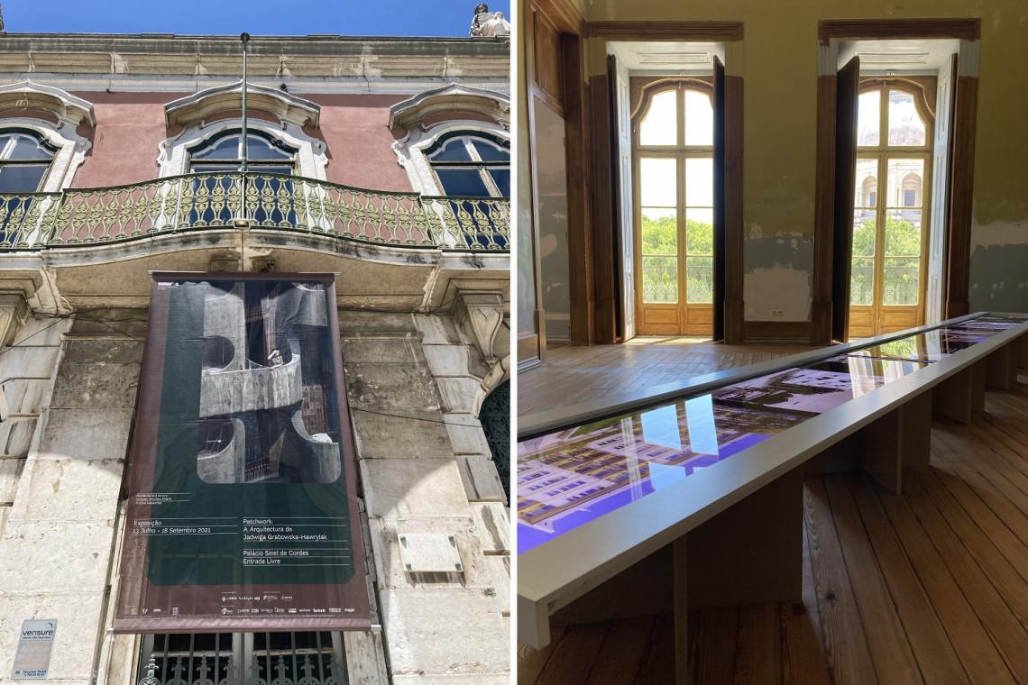 Prace polskiej architektki na wystawie w Lizbonie