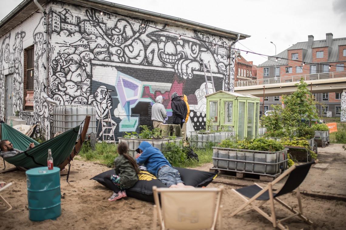 Dawna Stocznia Gdańska polem do popisu street-artowców
