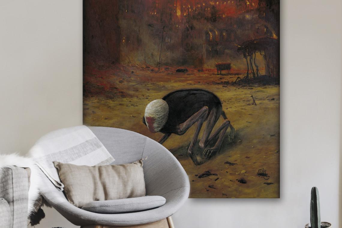 Obraz Van Gogha, Moneta i Beksińskiego na wyciągnięcie ręki