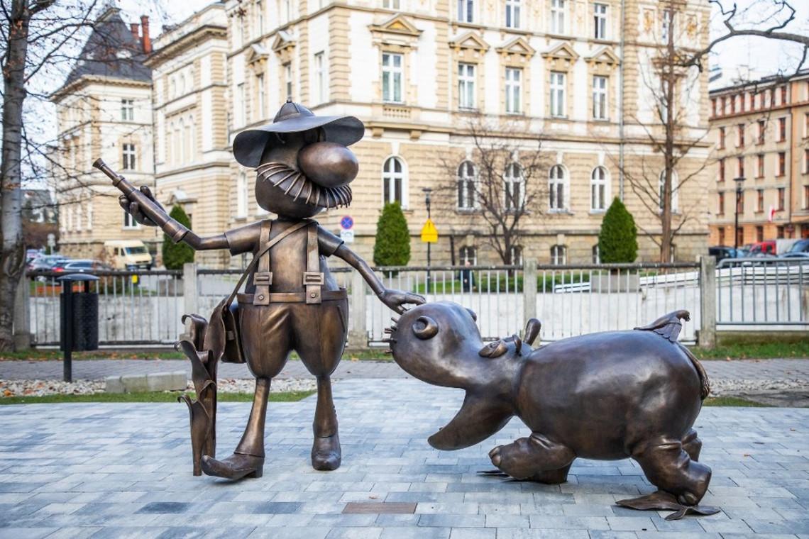 Pomnik szpiega z krainy Deszczowców stanie na bajkowym szlaku w Bielsku-Białej