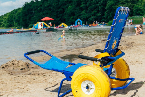 Kąpieliska w Poznaniu. Teraz bardziej dostępne dla osób niepełnosprawnych