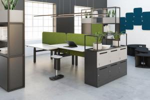 Meble akustyczne: nowatorskie rozwiązanie dla branży biurowej