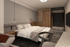 Tak będą wyglądać wnętrza bliźniaczych hoteli Wieniawa i Ikar