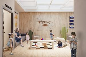 Centrum Zdrowia Dziecka z nową izbą przyjęć i holem rejestracji. To projekt Kuryłowicz & Associates