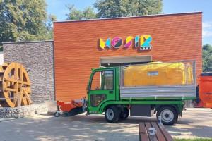 Ekologiczna Łódź. Nowy, elektryczny pojazd w Miejskim Ośrodku Sportu i Rekreacji