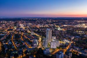 Multifunkcyjny kompleks w Katowicach. Nowy projekt pracownia HRA