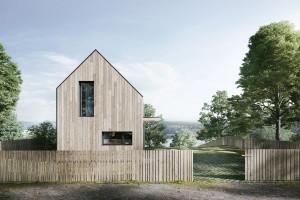Yono Architecture projektuje nowoczesne domki letniskowe nad jeziorem
