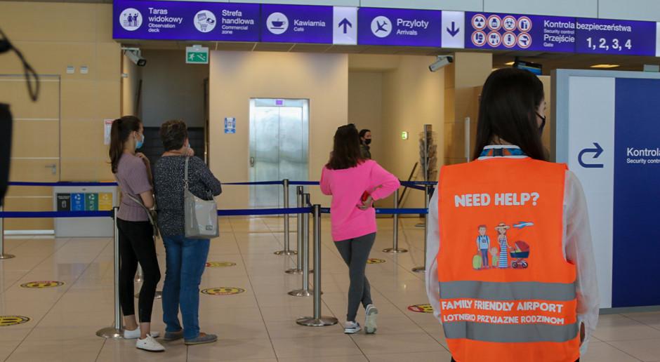 Lotnisko w Jasionce z dodatkowymi rozwiązaniami dla rodzin z dziećmi