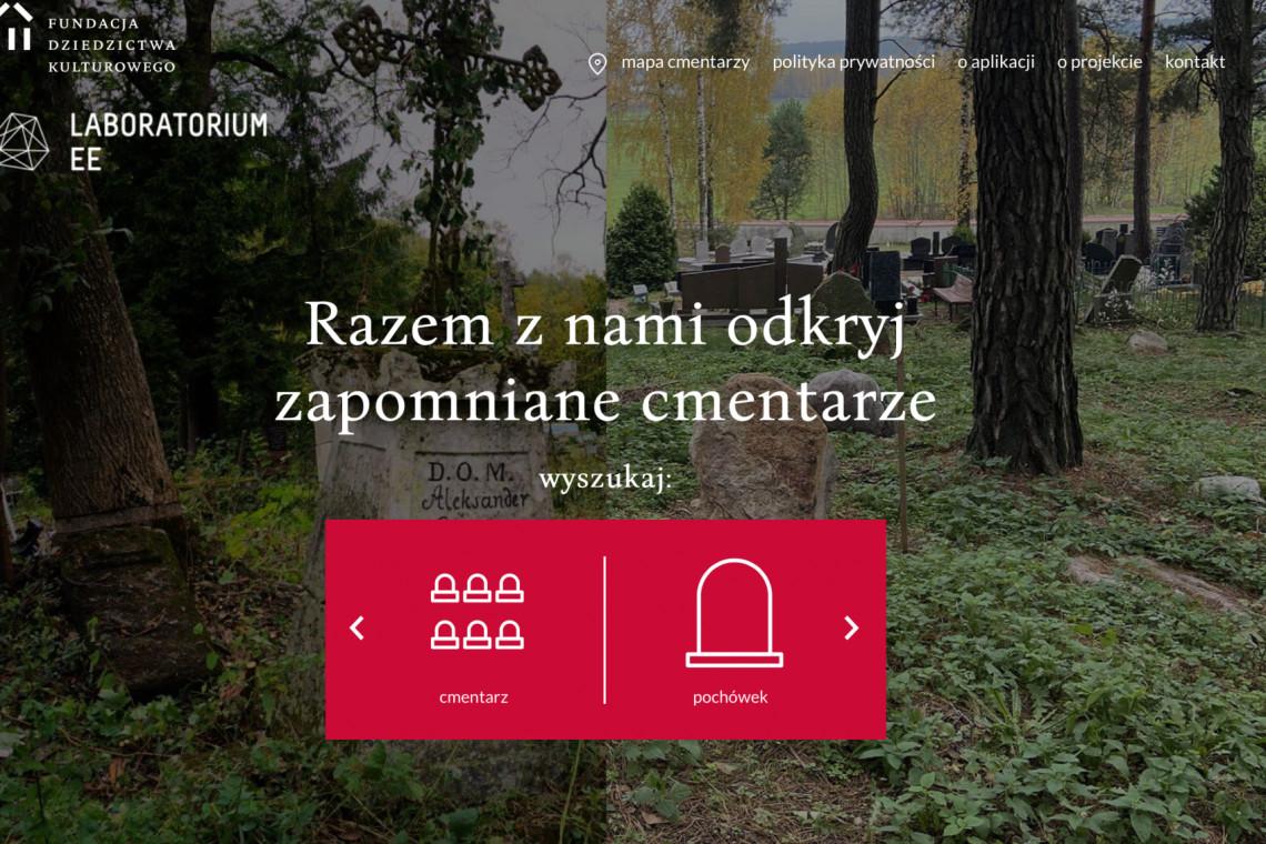 Aplikacja mobilna pomoże udokumentować zapomniane cmentarze