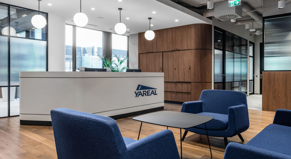 Siedziba Yareal w budynku Lixa. Architekt Barnaba Grzelecki zdradza kulisy pracy nad projektem