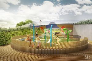 W Tychach powstanie nowy wodny plac zabaw