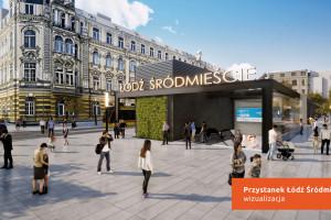 Tak będzie wyglądać przystanek kolejowy Łódź Koziny