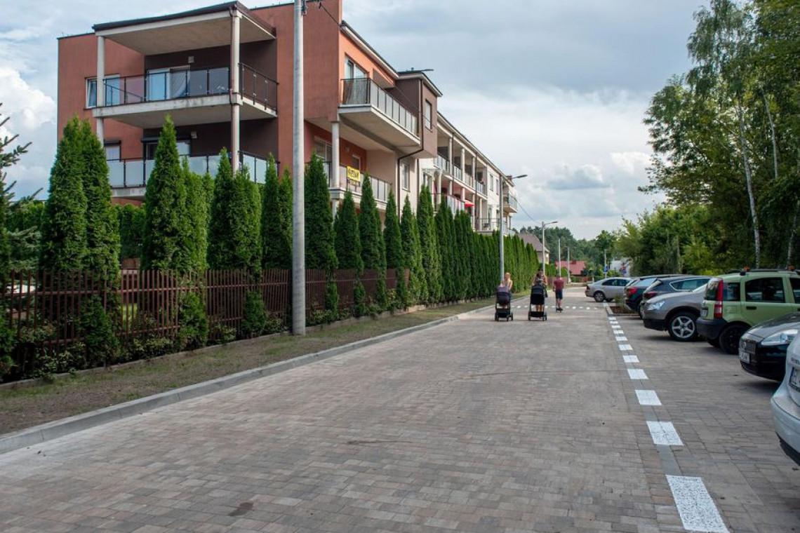 Kolejny zielony podwórzec w Łodzi