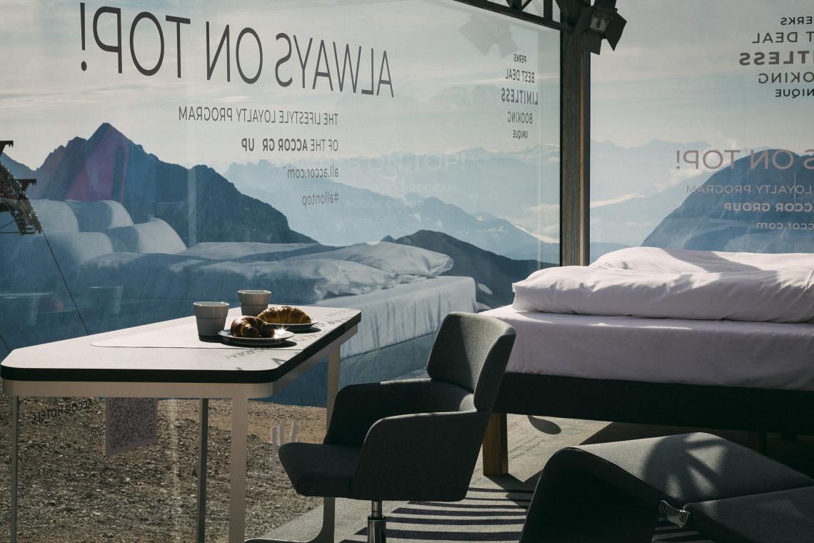Accor stworzył najwyżej położony pokój hotelowy w Niemczech. Jednak... nie można w nim spać